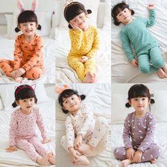 Dolphin Dream - Kids Pajama Set: Sweatshirt + Pants