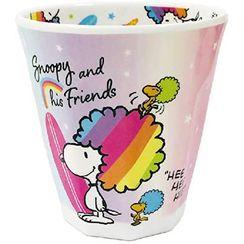 T'S Factory - SNOOPY Printed Plastic Cup (Rainbow Series/Rainbow)