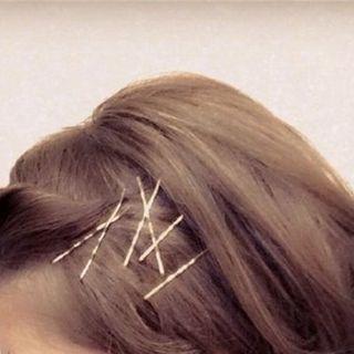 Agape - Set of 10: Alloy Hair Pin
