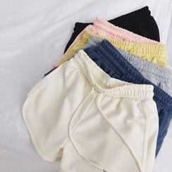 IndiGirl - Sweat  High-Waist Shorts