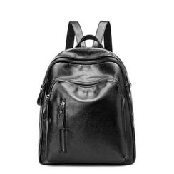 AIDO - Genuine Leather Backpack