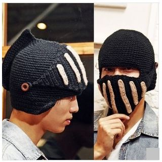 Cap Station - Knit Beanie With Mask