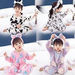 Pegasus - Kids Zip Jumpsuit Pajama (Various Designs)