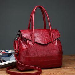 Selinda - Faux Leather Handbag