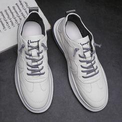 Junster  - 仿皮系带鞋