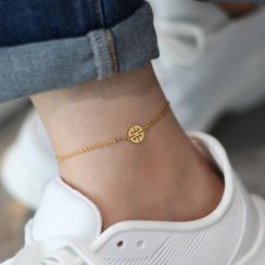 MOMENT OF LOVE - Patterned Anklet