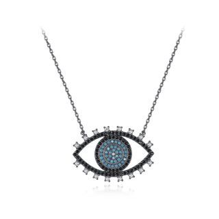 BELEC - Simple and Creative Devil's Eye Cubic Zirconia Necklace