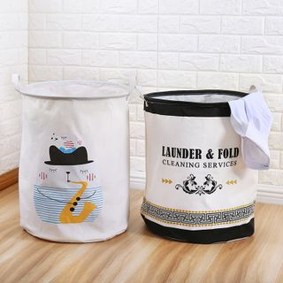 Yulu - Printed Foldable Laundry Basket