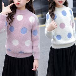 Island Puppies - Kids Dotted Sweater