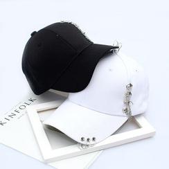 Buttercap - Kappe mit Metall-Verzierung