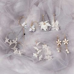 Jasminte - Flower Drop Earring (Various Designs)