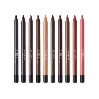 MACQUEEN - The Big Waterproof Pencil Gel Liner - 10 Colors