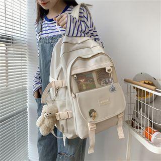 Mulgam - Buckled Paneled Backpack