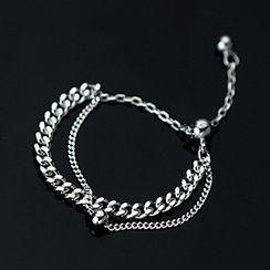 A'ROCH - 多层纯银链条戒指