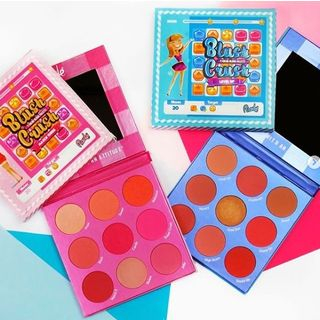 RUDE - Blush Crush 9 Color Blush Palette