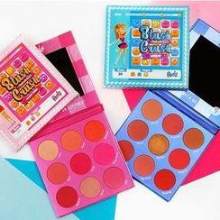 RUDE - Blush Crush 9 Color Blush Palette
