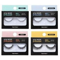 TONYMOLY - Style Recipe Eyelash - 12 Types