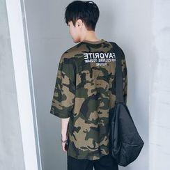 MRCYC - Short-Sleeve Camouflage Printed T-Shirt