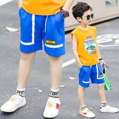 Cherry Pie - Kids Wide-Leg Shorts