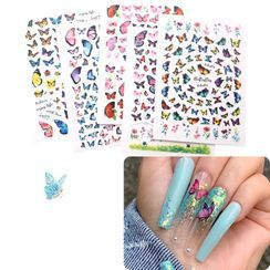 Monoe - Butterfly Nail Art Decoration