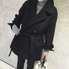 Apotheosis - Notch Lapel Tie-Waist Coat
