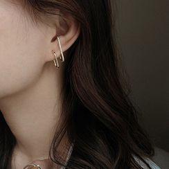 Honne - 925純銀耳環