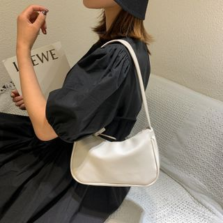 BAGSHOW - Faux Leather Shoulder Bag