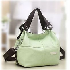 Auree - Faux Leather Tote Bag