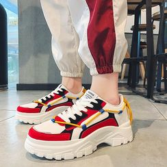 Redrunner - 拼色厚底运动鞋