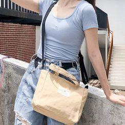 Ms Bean(ミズビーン) - Canvas Crossbody Bag