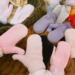 Yunikon(ユニコン) - Plain Chenille Gloves