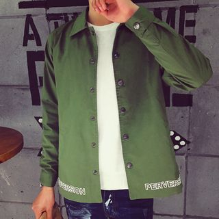 Bay Go Mall - Button Down Jacket