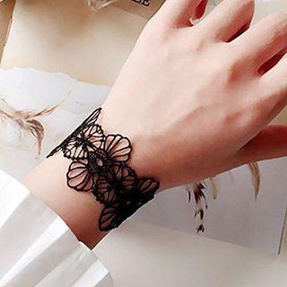 True Glam - Lace Choker / Bracelet