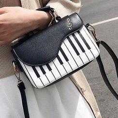 OUCHA - 鋼琴造型斜挎包