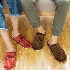 Cool Cocoon - 罗纹灯芯绒家居拖鞋