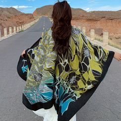 Dreamaway - Printed Hooded Shawl
