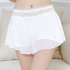 Loville - Lace Trim Under Shorts