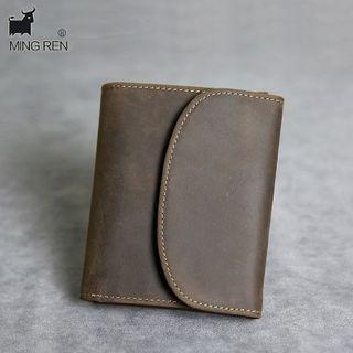 Wavecho(ウェーブチョ) - Genuine Leather Bifold Wallet