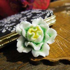 Townlet - Ceramic Flower Brooch