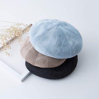 Hat Society - 纯色贝雷帽