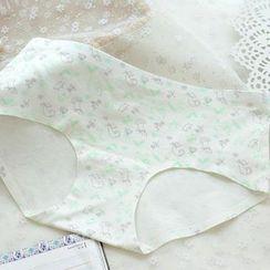 QIANLEE - Printed Panties