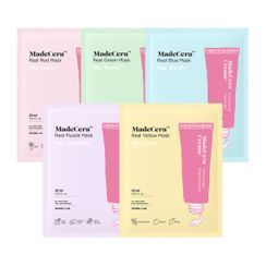 SKINRx LAB - MadeCera Real Mask - 5 Types