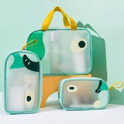 聚可愛 - 卡通印花旅行化妝品小袋
