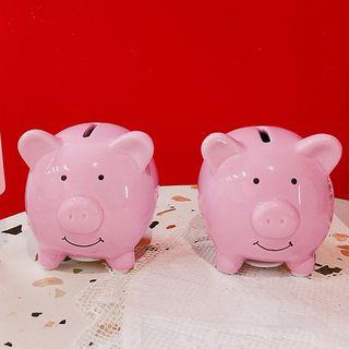 Yunikon - Ceramic Pig Coin Bank