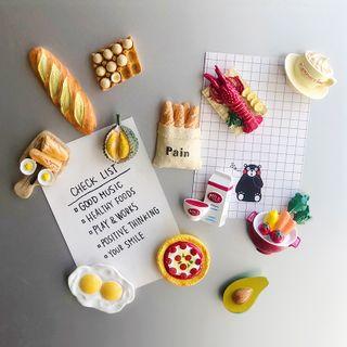 Sheroni - 樹脂食物冰箱磁貼