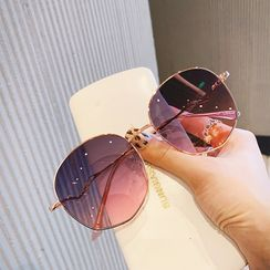 MOL Girl - 圓形太陽眼鏡