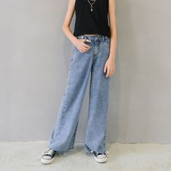 Cynanne - Kids Straight-Fit Jeans