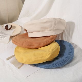 Skycap - Japanese Thin Retro Plain Painter Hat