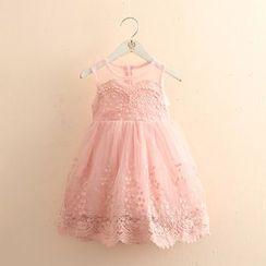 Seashells Kids - Kids Sleeveless Lace Dress