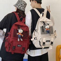 KAMELIS - Buckled Nylon Backpack